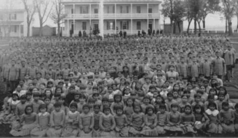 TENS OF THOUSANDS FIRST NATION CHILDREN DIED IN RESIDENTIAL SCHOOLS
