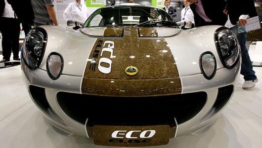 Hemp Car Kestrel made in Alberta