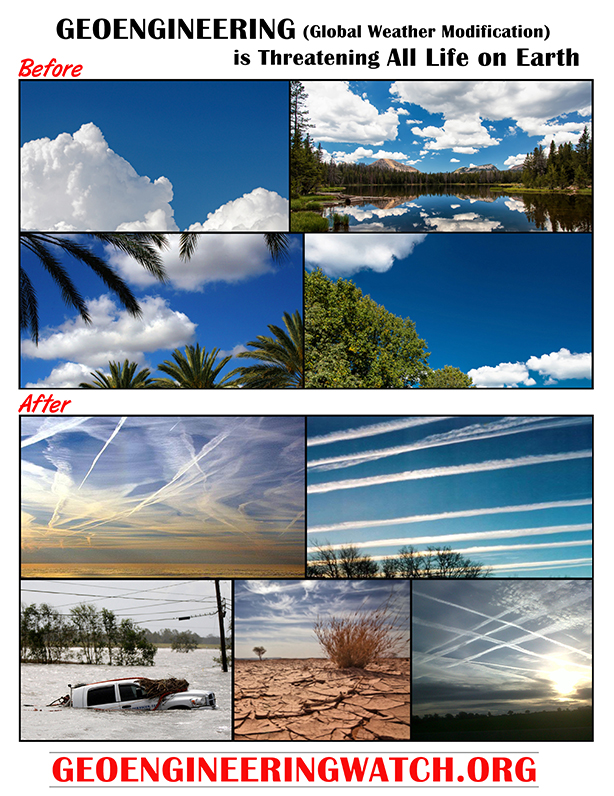 GLOBAL CLIMATE GEOENGINEERING: The Assault Against All Life On Earth