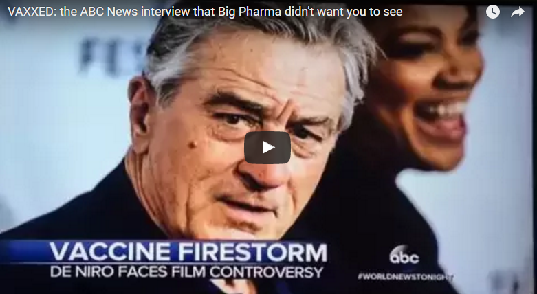 ABC News Caught Censoring VAXXED Producer in News Segment