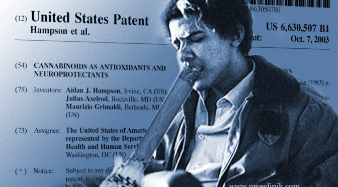 US Gov't Patents Marijuana as Anti-Oxidant, NeuroProtectant; Cures Alzheimer's, Parkinson's, Autism, etc.
