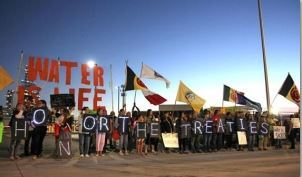 "Standing Rock… Sacred Land… A 'Victory' Article (""Army Corps Shelves Construction of DAPL"") and an 'Apocalyptic' One (""Who's Banking on the Dakota Access Pipeline?"")"