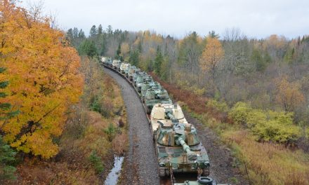 U.S. Moving Self-Propelled Artillery To Border with Quebec; Reports of Uniformed Chinese Troops in Canada