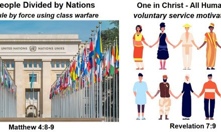 One in Christ: Abolishing Discrimination and Class Warfare in the Messianic New World Order