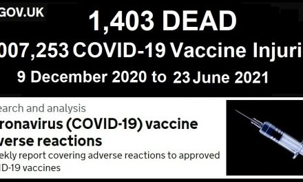 1,007,253 Injuries 1,403 DEAD in the UK Following COVID-19 Injections According to UK Government