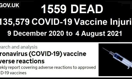 1,135,579 Injuries 1,559 DEAD in the UK Following COVID-19 Injections According to UK Government