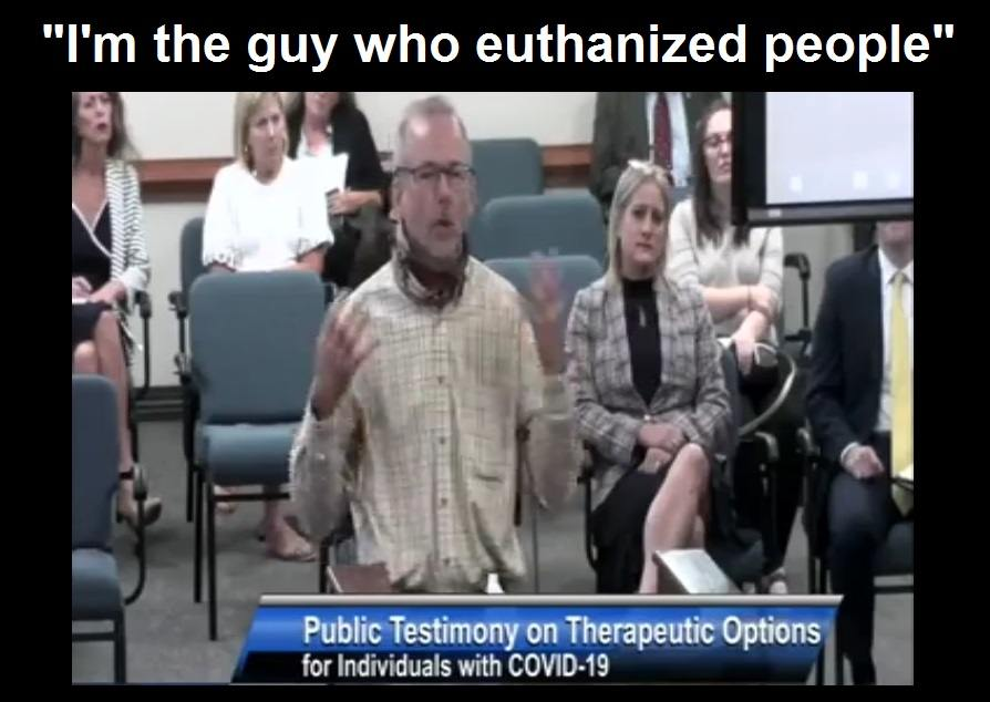 Pulmonary Nurse of 31 Years Testifies How he Unknowingly Killed Patients by Following COVID Protocols