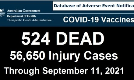 Australia Records 10X More Deaths Following COVID-19 Shots than Recorded Deaths Following ALL Vaccines for Past 20 Years