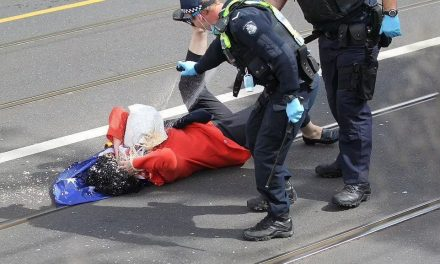 Massive Police Brutality Recorded in Australia During Rally for Freedom as Thousands Take to the Streets