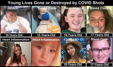 COVID Shots Are Killing and Crippling Teens in Record Numbers – Young Children Are Next
