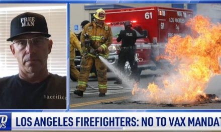 Police, Firefighters In LA Form Group To Resist Vaccine Mandates
