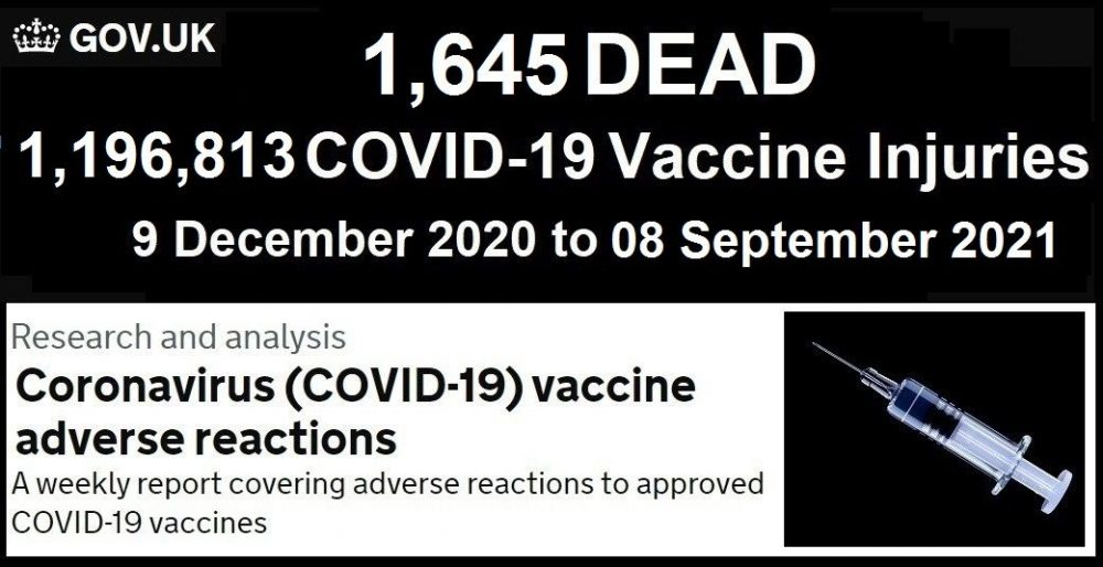 Fully Vaccinated Account for 74% of Covid-19 Deaths in the UK Summer Wave According to Latest Public Health England Report