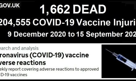 UK Medicine Regulator Confirms There Have Been Four Times as Many Deaths Due to the Covid-19 Vaccines in 8 Months than Deaths Due to All Other Vaccines Combined in 20 Years