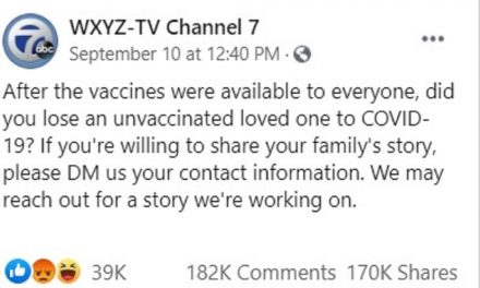 Local Detroit TV Asks for Stories of Unvaxxed Dying from COVID – Gets over 180K Responses of Vaccine Injured and Dead Instead