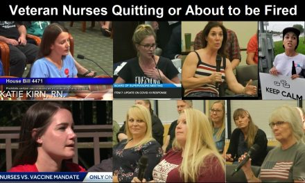 Crisis in America: Millions of Veteran Nurses are Resigning or Being Fired Over COVID Vaccine Mandates