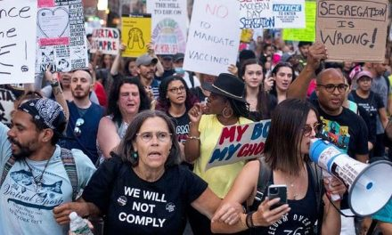 Led by Blacks, NYC Rises Up Against Mandatory COVID-19 Vaccines